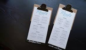 Restaurant Menus Layout Menu Size And Layout Restaurant Menu Design Guide
