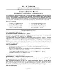 sample resume for apartment manager apartment manager resume property managers well see also collection