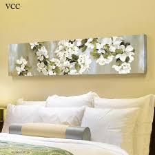 Vcc Dekorative Bilder Blumen Bild Wandkunst Leinwand Gemälde Wandbilder Für Schlafzimmer Leinwand Poster Inneneinrichtungen Y18102209