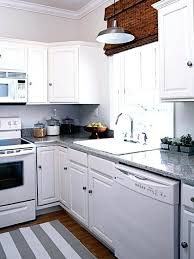 kitchens with white appliances and white cabinets. White Kitchen Cabinets Appliances Gray Off . Kitchens With And T