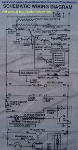 refrigerator repair fixitnow com samurai appliance repair man admiral refrigerator model rswa228aa schematic wiring diagram