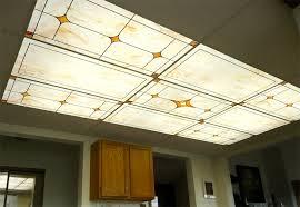 Drop Ceiling Fluorescent Light Panels Amazing Design