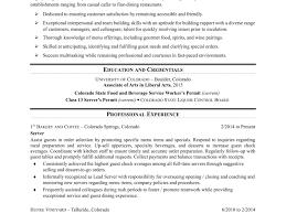 Job Description Of A Bartender For Resume Fancy Food Server Job Description Forume On Catering Sample 61