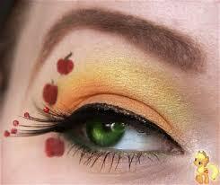 my little pony friendship is magic applejack eye makeup tutorial by makeup your jangsara also