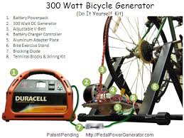 diy bicycle generator plans pedal power generators parts
