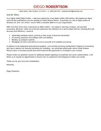 Auditor Cover Letter Sample Free Resume Templates