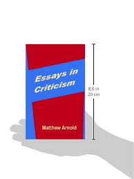 essays in criticism matthew arnold com books