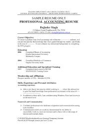 Fresh An Accountant Resume Madiesolution Com