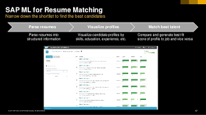 resume matching