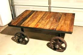 rail cart coffee table rail cart coffee table ox cart coffee table coffee tables rail cart