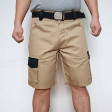 New Shorts Design Us 23 7 40 Off 2019 New Design Men Cargo Shorts Summer Casual Working Shorts Hard Wearing Short For Men Plus Size Khaki Grey Id712 In Casual Shorts