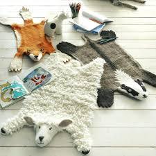 kids animal rug floor rug graham and green animal felt rugs furniture s nyc queens