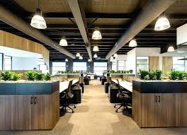chic office design. Office Design Northbrook New Trends Decor Industrial Chic .
