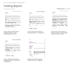 Deposit Templates New Holding Deposit Forms And Templates Added Grl Landlord