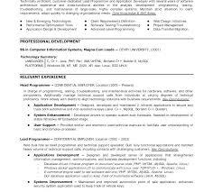 Entry Level Programmer Resume Entry Level Programmer Resume Examples