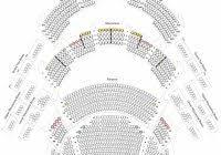 Kauffman Theater Seating Chart Kauffman Seating Chart Seating Chart