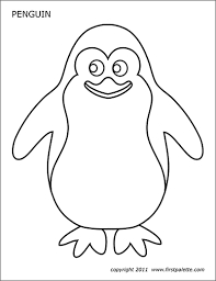All our coloring pages are ridiculously easy to print. Penguin Free Printable Templates Coloring Pages Firstpalette Com