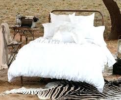 modern black and white bedding modern white bedding image of contemporary white ruffle bedding modern black