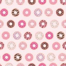Donut Pattern Simple Design Inspiration