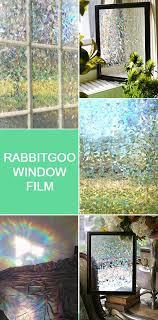 @rabbitgooing <b>Rabbitgoo 3d</b> No Glue Static Decorative Privacy ...
