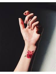 акварельные переводные тату Blossom Miami Tattoos