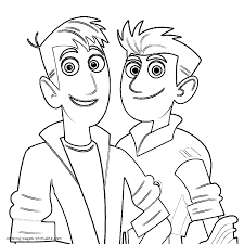 Small Picture Wild Kratts Coloring Pages Inside Eson Me New diaetme