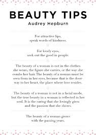 Audrey Hepburn Beauty Tips Quote Best of The 24 Best Truth In Beauty Images On Pinterest