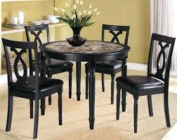 small wooden dining table set kitchen small kitchen table sets fabric chairs modern white black color