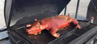 pig roasts in maine alabama s bbq