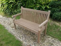 2 seater sandwick winawood bench in grey