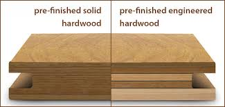 paring pre finished engineered with pre finished solid hardwood floors