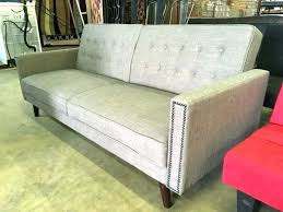 wood arm futon mainstays mission wood arm futon better homes and gardens new rowan linen grey wood arm futon