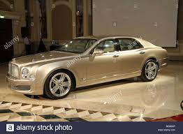 2011 Bentley Mulsanne front side profile Stock Photo, Royalty Free ...