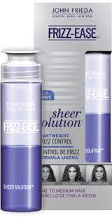 Precision foam colour serves all hair shades. Hot 3 1 John Frieda Frizz Ease Sheer Solution Printable With Cvs Scenario Deal Seeking Mom