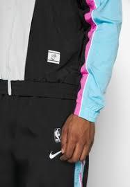 Places khon kaen nba courtside. Nike Performance Nba Miami Heat City Edition Tracksuit Black Blue Gale Laser Fuchsia Black Zalando Co Uk