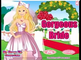 barbie games barbie gorgeous bride dress up game barbie wedding dressup and makeover games you