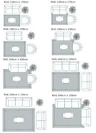 rug size comparison rug size fabulous living room rug placement and best rug size guide ideas rug size