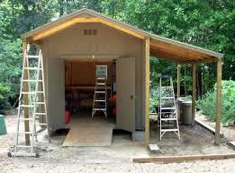 backyard sheds wood shed plans