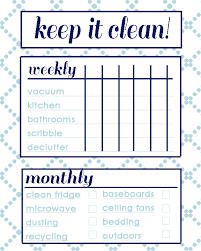 Apartment Chore Chart Chore Chart Two Live Colorfully