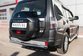 Mitsubishi Pajero VI 2019 <b>Защита заднего бампера d76</b> (дуга)