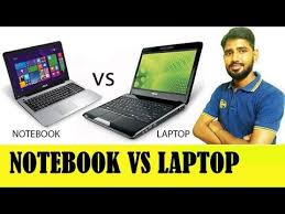 difference between notebook and laptop notebook vs laptop what is the difference between laptop and