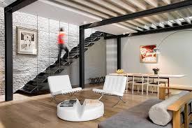 interior design furniture minimalism industrial design. minimalist living room design applied white barcelona sofas interior furniture minimalism industrial