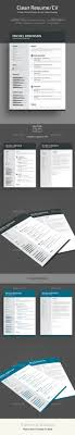 524 Best Resume Templates Images On Pinterest Business Cards