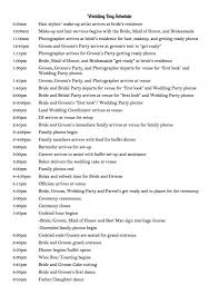 Sample Wedding Timeline Wedding Day Schedule to keep your day running smoothly Use this 2