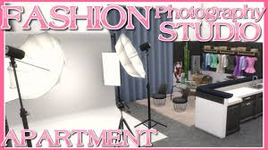 Studio Lights Sims 4 The Sims 4 Fashion Photography Studio Apartment Speed Build No Cc 910 Medina Studios