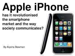 Alysha Bowman Apple iPhone Research Project.ppt