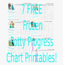 Potty Training Chart Printable 7 Free Frozen Potty Progress Chart Printables Free