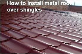 how to install metal roofing over shingles awesome installing a roof installing metal roof over shingles e3