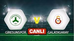 Galatasaray giresunspor maçı canlı izle - YouTube
