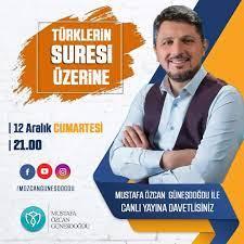 Saat 21:00 bütün sosyal medya... - Mustafa Özcan Güneşdoğdu